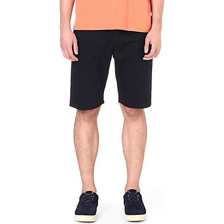 PAUL SMITH JEANS Regular-fit cotton shorts (Navy