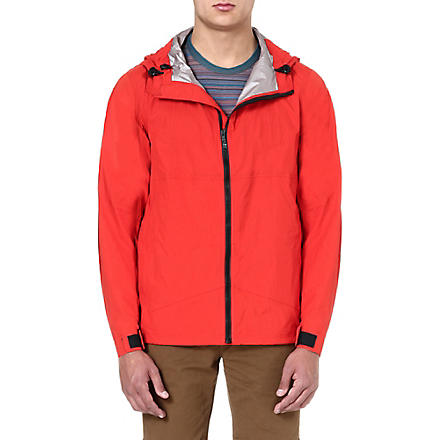PAUL SMITH JEANS Nylon cagoule (Red