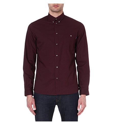 PAUL SMITH JEANS Paisley-print cotton shirt (Damson