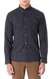 PAUL SMITH JEANS Paisley-print tailored-fit shirt