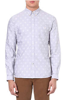 PAUL SMITH JEANS Geo-print Oxford shirt