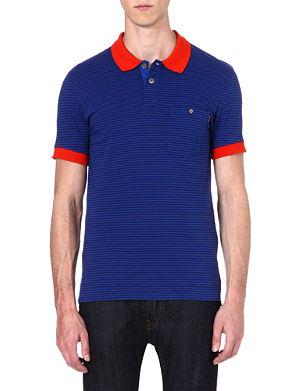 PAUL SMITH JEANS Striped polo shirt