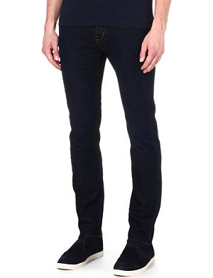 PAUL SMITH JEANS Tapered slim-fit jeans