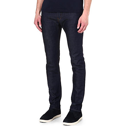 PAUL SMITH JEANS Tapered slim-fit jeans (Rinse
