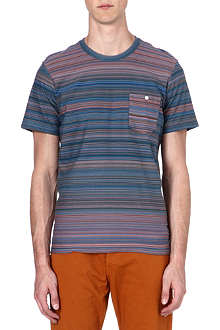 PAUL SMITH JEANS Multi-striped t-shirt