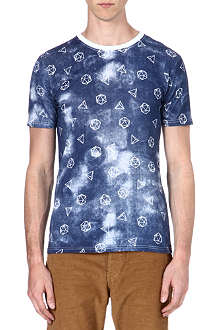 PAUL SMITH JEANS Geometric t-shirt