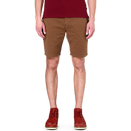PAUL SMITH JEANS Regular-fit shorts (Tan