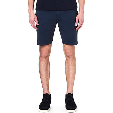 PAUL SMITH JEANS Regular-fit shorts (Navy