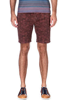 PAUL SMITH JEANS Geodesic regular-fit shorts