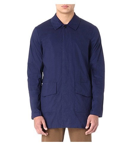 PAUL SMITH JEANS Two-pocket mac (Indigo