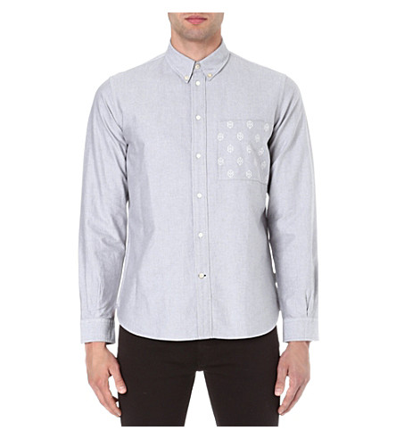 PAUL SMITH JEANS Oxford work shirt (Grey
