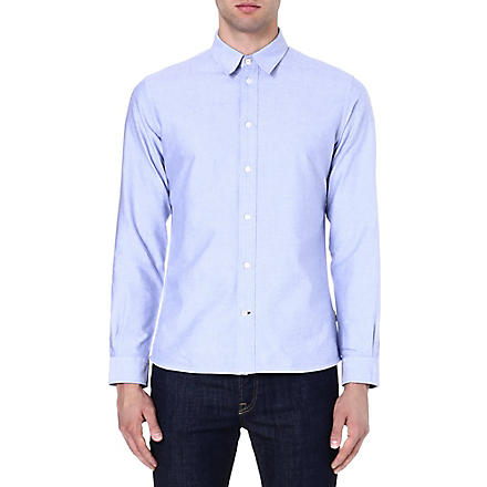 PAUL SMITH JEANS Oxford cotton shirt (Blue