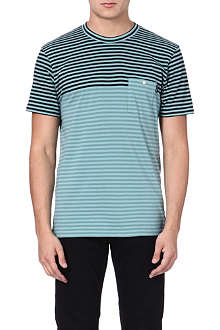 PAUL SMITH JEANS Two-toned striped t-shirt