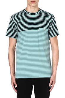 PAUL SMITH JEANS Striped pocket t-shirt