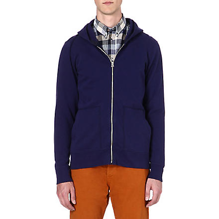 PAUL SMITH JEANS Zip-up hoody (Indigo
