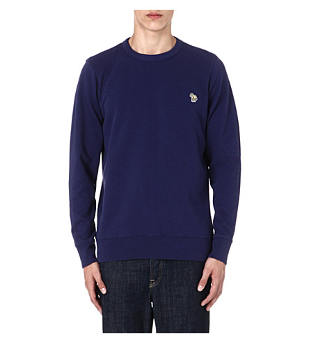 PAUL SMITH JEANS Zebra sweatshirt (Indigo