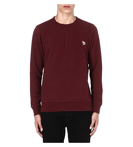 PAUL SMITH JEANS Zebra sweatshirt (Damson
