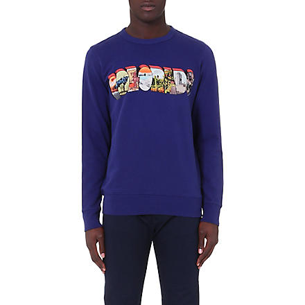 PAUL SMITH JEANS Colorado jersey sweatshirt (Indigo