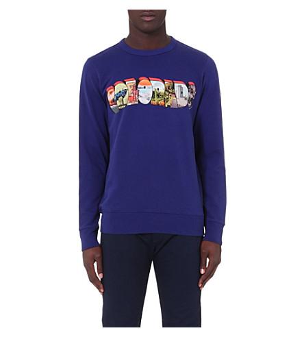 PAUL SMITH JEANS Colorado jersey sweatshirt (Indigo