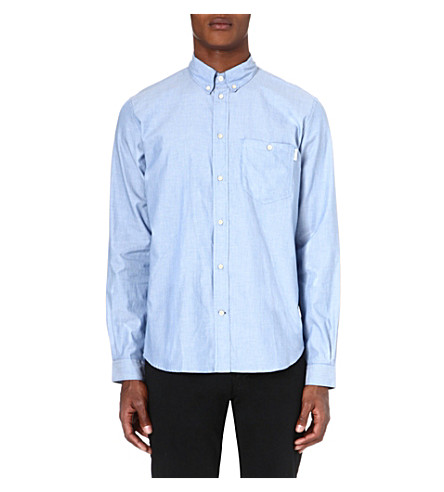 PAUL SMITH JEANS Striped classic-fit shirt (Blue