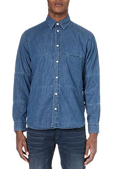 PAUL SMITH JEANS Long-sleeved denim shirt