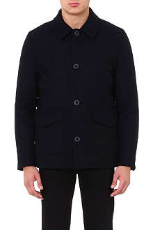 PAUL SMITH JEANS Wool-blend car coat