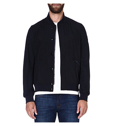 PAUL SMITH JEANS Nylon bomber jacket (Navy
