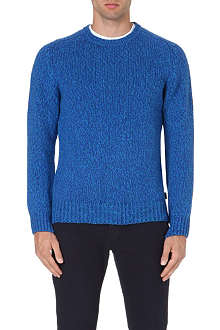 PAUL SMITH JEANS Chunky knit wool-blend jumper
