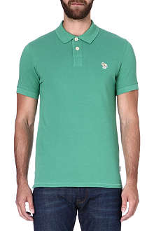 PAUL SMITH JEANS Zebra slim-fit polo shirt