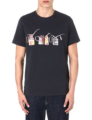 PAUL SMITH JEANS Oil can print t-shirt