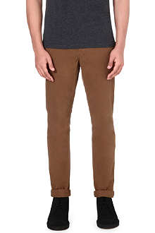 PAUL SMITH JEANS Tapered cotton chinos