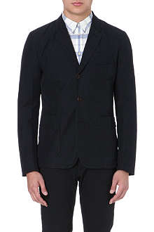 PAUL SMITH JEANS Patch-pocket cotton-blend blazer