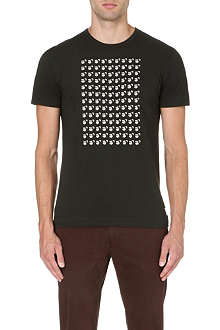 PAUL SMITH JEANS Repeating monkey print t-shirt