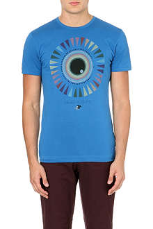PAUL SMITH JEANS Eye-print t-shirt