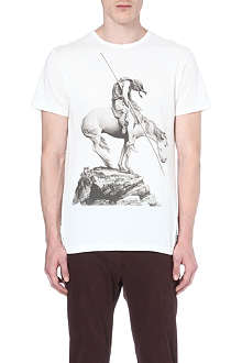 PAUL SMITH JEANS Man on Horse cotton t-shirt