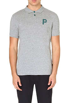 PAUL SMITH JEANS P appliqué cotton polo shirt