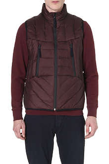 PAUL SMITH JEANS Down quilted gilet