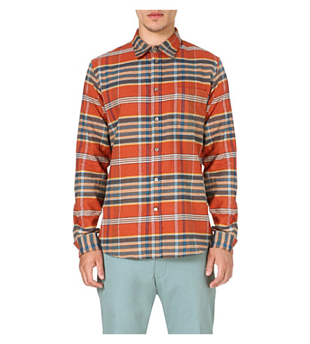 PAUL SMITH JEANS Checked flannel shirt (Pink