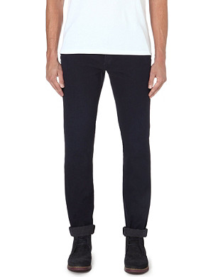 PAUL SMITH JEANS Cavalry slim-fit tapered twill trousers