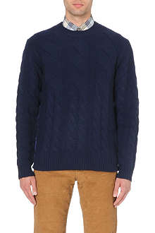 PAUL SMITH JEANS Cable-knit jumper