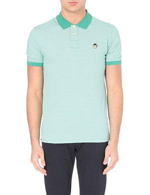 PAUL SMITH JEANS Monkey polo shirt