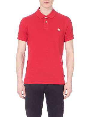 PAUL SMITH JEANS Cotton-piqué polo shirt