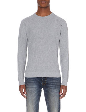 PAUL SMITH JEANS Textured knitted cotton jumper