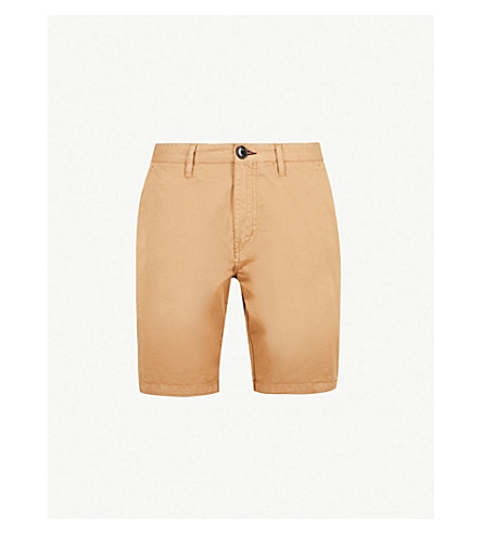 PS BY PAUL SMITH Regular-fit stretch-cotton shorts (Tan