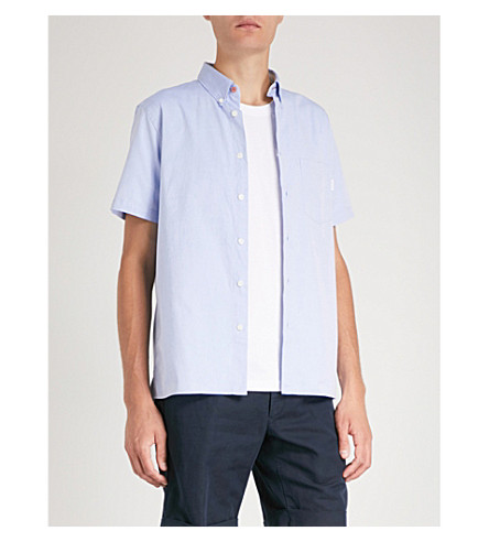 BY PS Oxford Sky BY PS PAUL cotton SMITH SMITH Oxford PAUL cotton shirt shirt Y0OqHFa