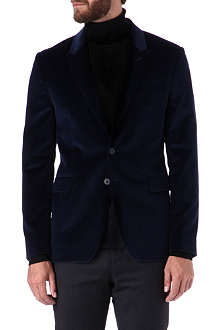 PS BY PAUL SMITH Single-breasted velvet blazer
