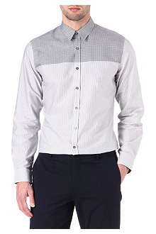 PS BY PAUL SMITH Striped gingham shirt