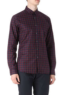 PS BY PAUL SMITH Slim-fit single cuff gingham shirt