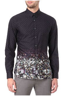 PS BY PAUL SMITH Geometric floral-print shirt