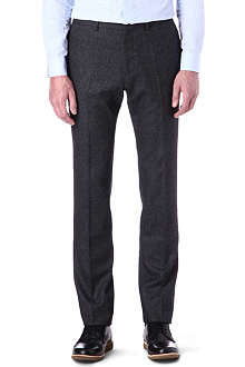 PS BY PAUL SMITH Wool-blend Donegal trousers